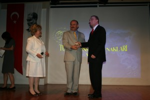 With Turkish Minister of National Education, Dr.Celik in Ankara 2009