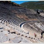 Theater in Ephesus Turkey